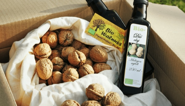 Adopt a walnut tree in Hungary , name it and receive its harvest of organic nuts at home.